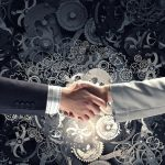 handshake selling a business
